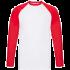 Podgląd modelu Koszulka Fruit of the Loom Baseball z długim rękawem BASEBALL F50
