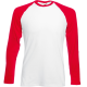 Lekka bluza męska Fruit of The Loom LIGHTWEIGHT BASEBALL T  F50