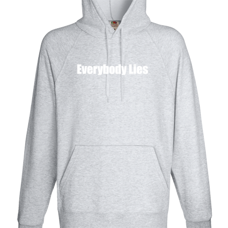 Bluza z kapturem Everybody Lies