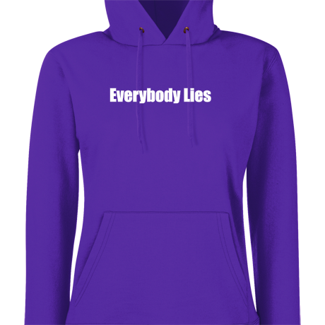 Damska bluza z kapturem Everybody Lies