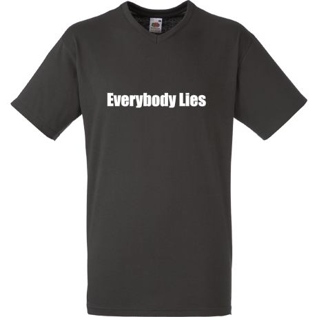 Koszulka V-neck Everybody Lies