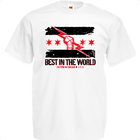 Koszulka CM PUNK BEST IN THE WORLD