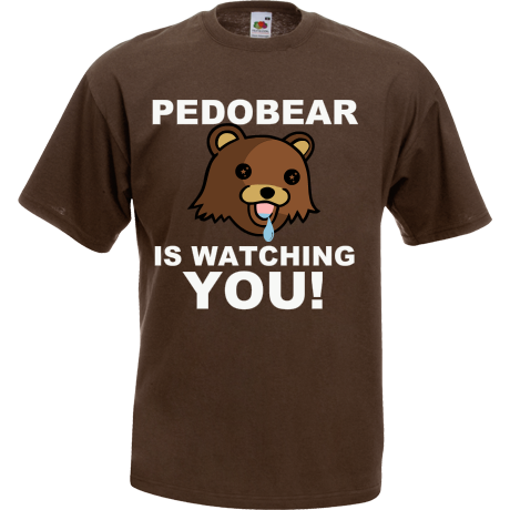 Koszulka Pedobear is watching you