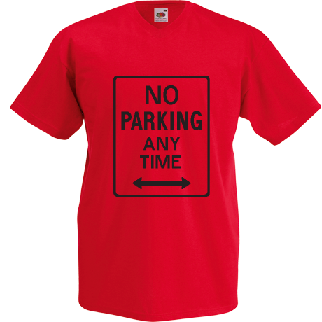 Koszulka V-neck no parking