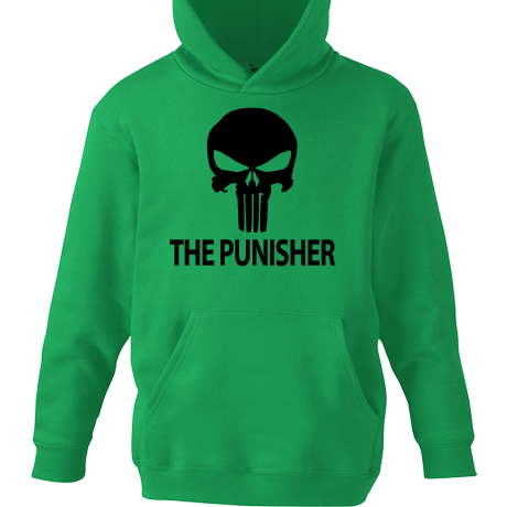 Dziecięca bluza z kapturem The Punisher