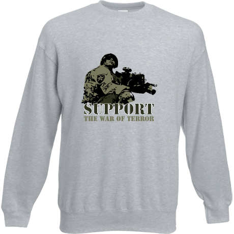 Bluza Support the war of terror