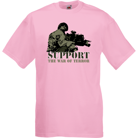 Koszulka Support the war of terror