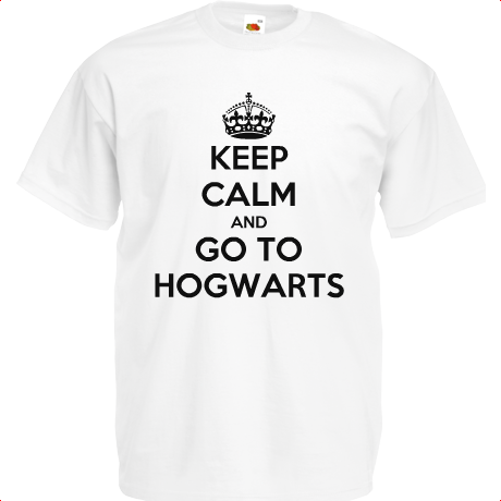 Koszulka KEEP CALM AND GO TO HOGWARTS
