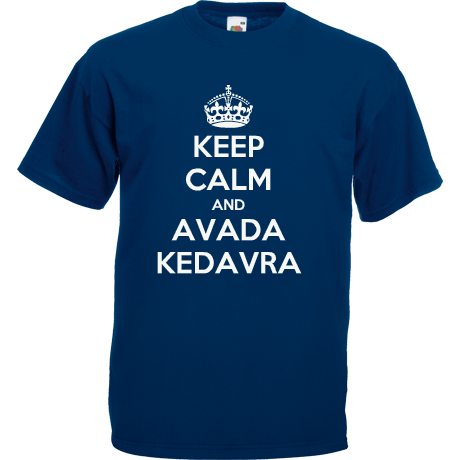 Koszulka KEEP CALM AND AVADA KEDAVRA