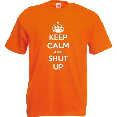 Koszulka KEEP CALM AND SHUT UP