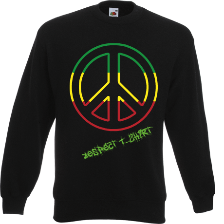 Bluza Respect T-Shirt Cool Rasta