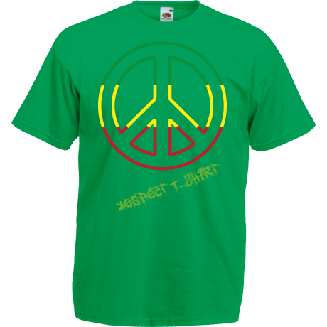 Koszulka Respect T-Shirt Cool Rasta