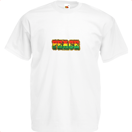 Koszulka Rasta Peace Respect T-Shirt