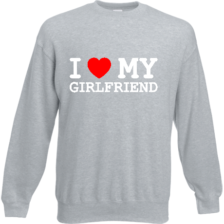 Bluza I love my girlfriend - czarna