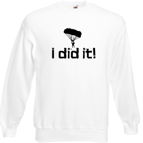 Bluza SCS - I did it (damska) white