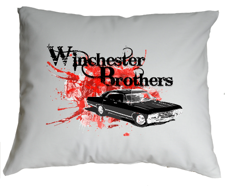 Poduszka Winchester Brothers