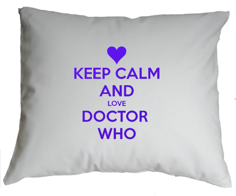 Poduszka Keep Calm and Love Doctor Who