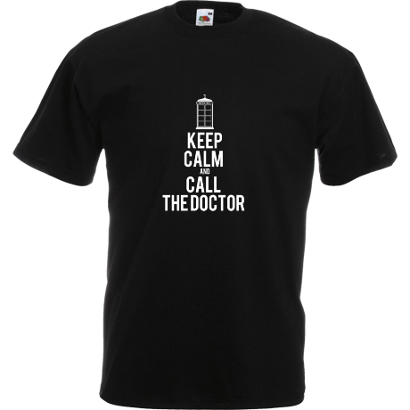 Koszulka Keep Calm and Call The Doctor