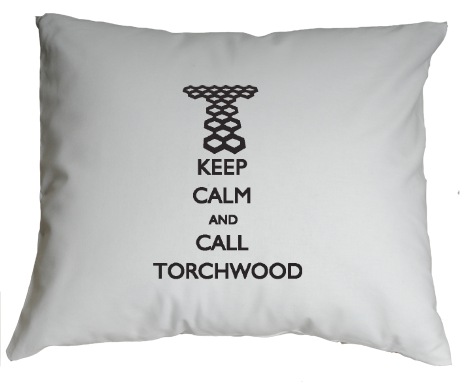 Poduszka Keep Calm and Call Torchwood