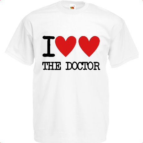 Koszulka I Heart The Doctor