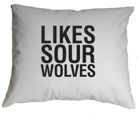 Poduszka Teen Wolf Likes Sour Wolves