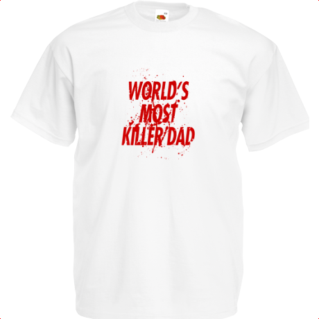 Koszulka World's Most Killer Dad