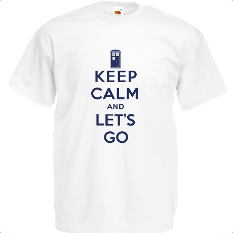 Koszulka Keep Calm and Let's Go