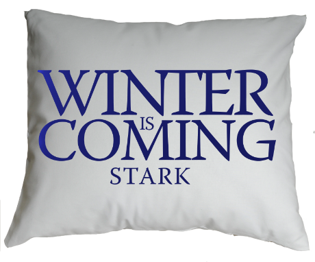 Poduszka Winter is Coming Stark