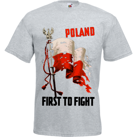Koszulka Poland First To Fight