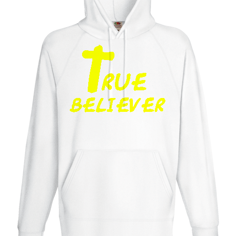 Bluza z kapturem TRUE BELIEVER