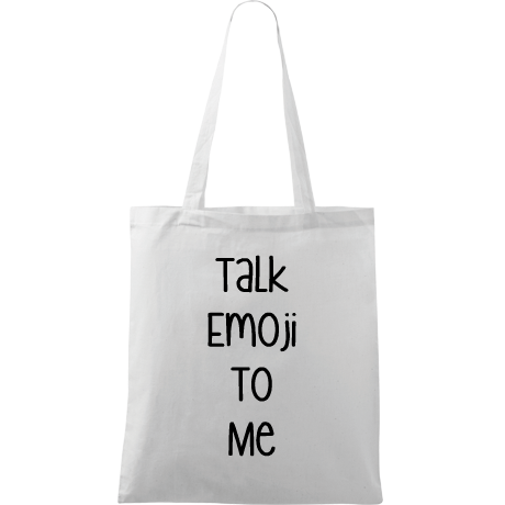 Torba z nadrukiem Bag Colletion 1: Talk Emoji To Me