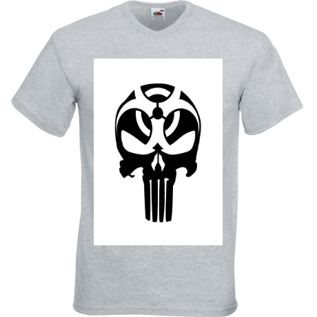 Koszulka V-neck punisher