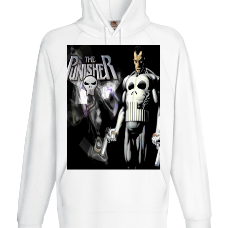 Bluza z kapturem punisher