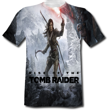 Koszulka Fullprint z nadrukiem Fullprint - Rise Of The Tomb Raider