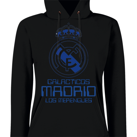 Damska bluza z kapturem Real Madrid