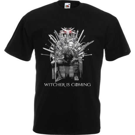 Koszulka Witcher is coming