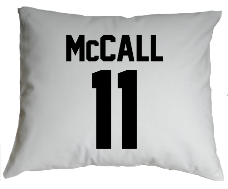 Poduszka McCall Lacrosse Number