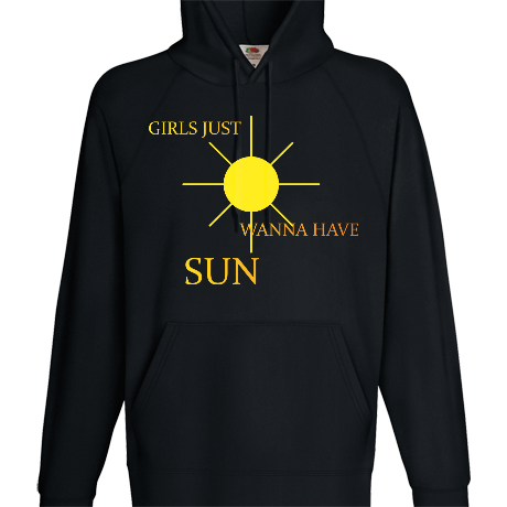 Bluza z kapturem girls just wanna have sun