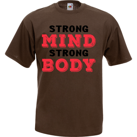 Koszulka Strong mind strong body