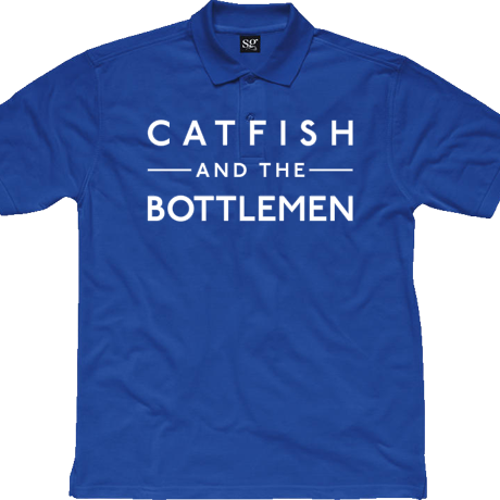 Koszulka polo Catfish and the Bottlemen