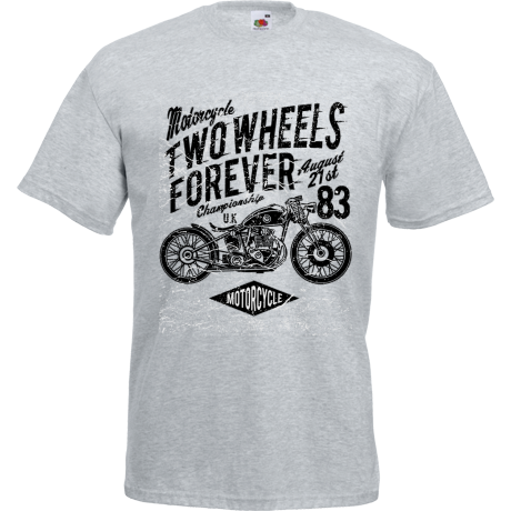 Koszulka Two Wheels Forever