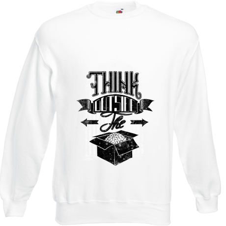 Bluza z nadrukiem Think outsige the box