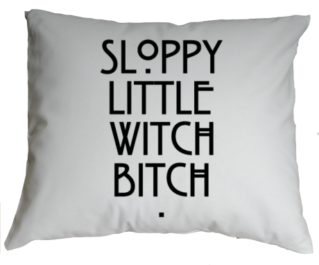 Poduszka Sloopy Little Witch Bitch