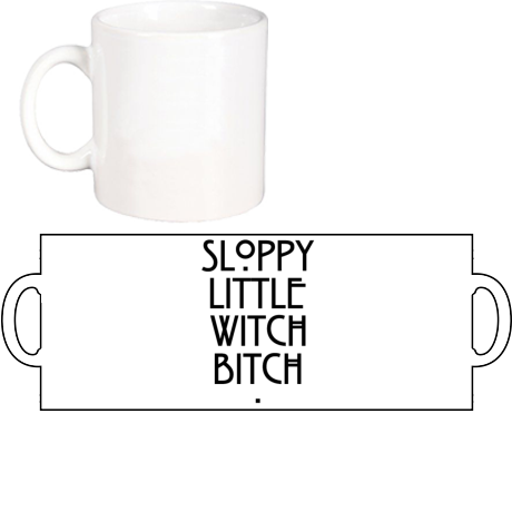 Kubek Sloopy Little Witch Bitch