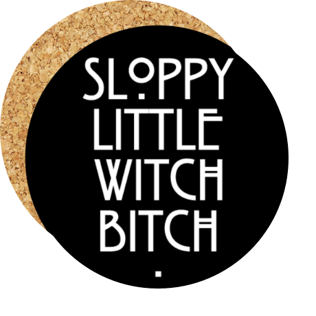 Podkładka pod kubek Sloopy Little Witch Bitch
