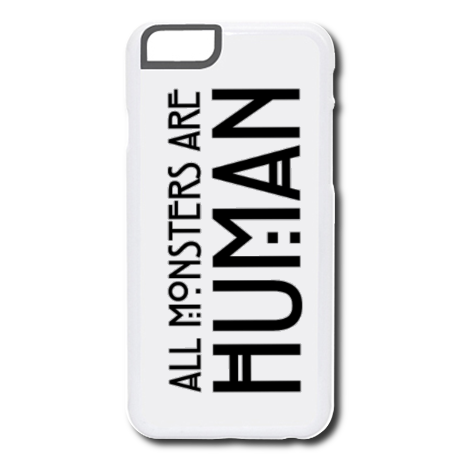 Etui na telefon All Monsters Are Human