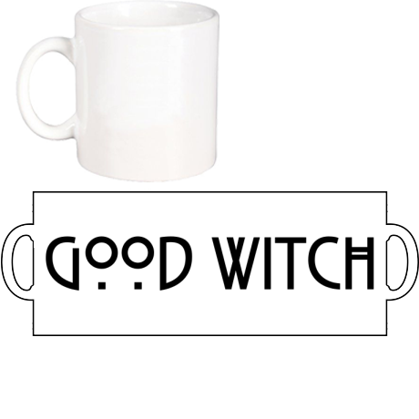 Kubek z nadrukiem Good Witch