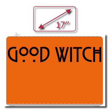 Naklejka na laptopa Good Witch