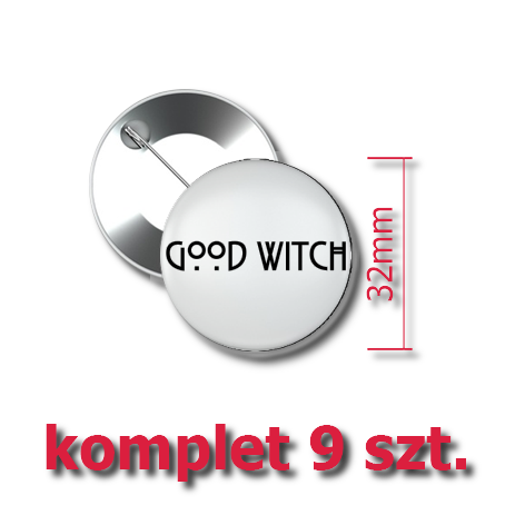 Przypinki Good Witch