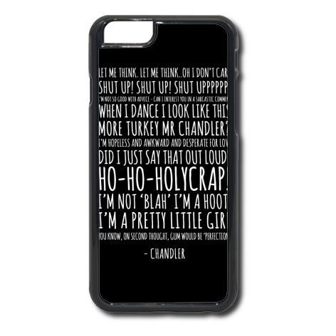 Etui na telefon Chandler Quotes